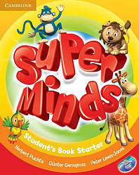 Super Minds Starter Student's Book with DVD-ROM (Учебник)