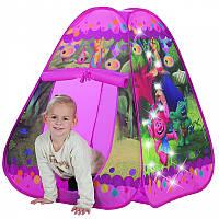 Палатка игровая с подсветкой Trolle John 78112