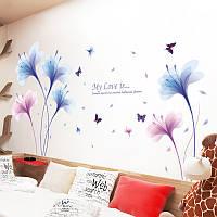 Интерьерная наклейка на стену Орхидеи