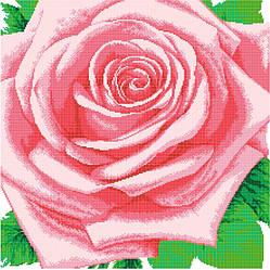 Схема для вишивки та вишивання бісером Бисерок «Королева квітів» (50х50) (ЧВ-650010)