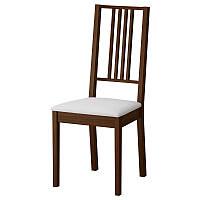 """Стул обеденный """"Бук М"""" мягкое сидение (коричневый, черный, прозрачный) для гостинной"""
