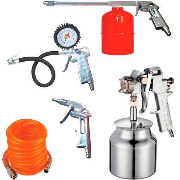 Набор пневмоинструментов Werk KIT-5SN (NEW)