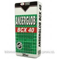 Ancerglob BCX 40, смесь клеевая для приклеивания и защитного слоя 25 кг