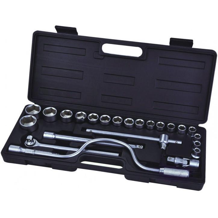 Профессиональный набор инструментов Сталь 24 единицы