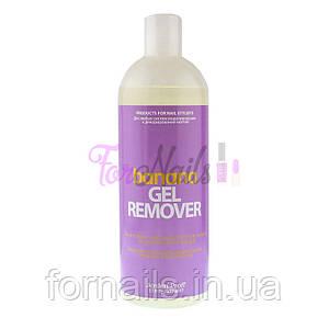 Жидкость для снятия гель-лака Jerden Proff Gel Remover, банан, 500 мл