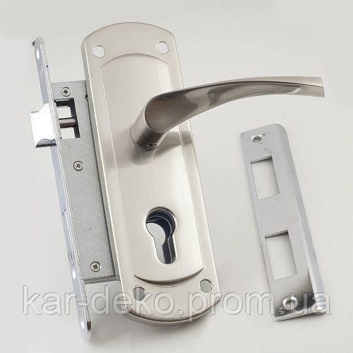 фото замок цилиндровый с ручками Империал kar-deko.com