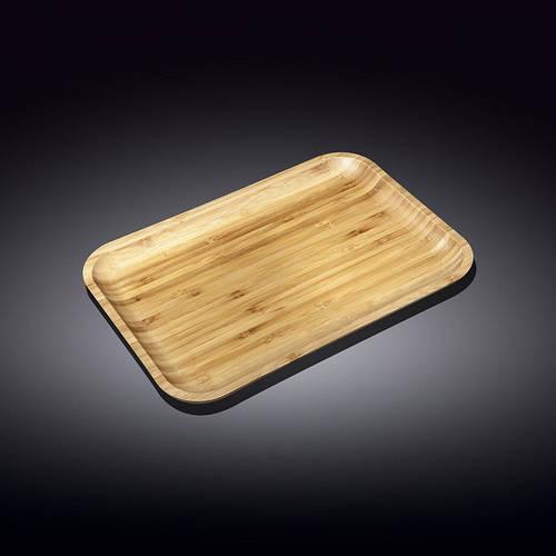 Блюдо бамбуковое Wilmax bamboo 23х12,5 см wl-771051