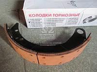 Колодка торм. ГАЗ 3307,3309,4301 перед. с накл. (покупн. ГАЗ) 4301-3501090