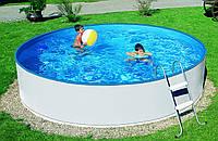 Каркасный круглый бассейн Azuro 2,4 х 0,9 с лестницей и фильтром