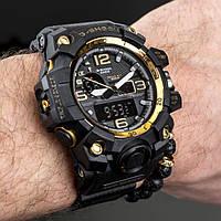 Мужские спортивные часы Casio G-Shock GWG-1000 Gold