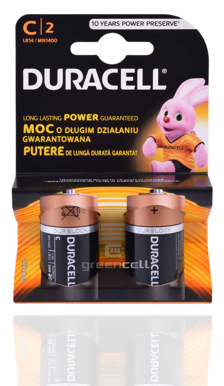 Батарейка DURACELL LR14 1x2