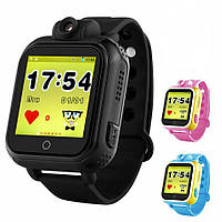 Q200 детские часы с gps Smart baby watch с камерой 2 Mpx и 3G