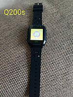 Новые детские часы Gps Q200s TD-07s Smart baby watch черные с встроеной камерой