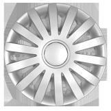 Колпаки на колеса диски для дисков R17 серые колпак K0372 Колпак колеса R17