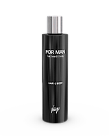 Vitality's For Man Hair & Body Shampoo Шампунь-гель 2в1 для волос и тела, 240 мл