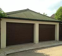 Ворота гаражные секционные подъемные DoorHan 2000*2700, фото 1