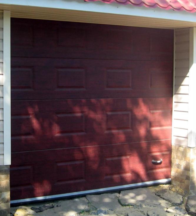 Гаражные ворота DoorHan 2100*2200