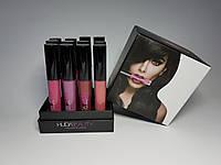 Набор матовых помад Huda Beauty liquid matte lipstick, 12 шт