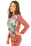 Модный весенне-осенний костюм для девочки 128-146р, фото 2