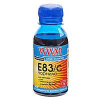 Чернила WWM для Epson Stylus Photo T50/P50/PX660 100г Cyan Водорастворимые (E83/C-2) светостойкие