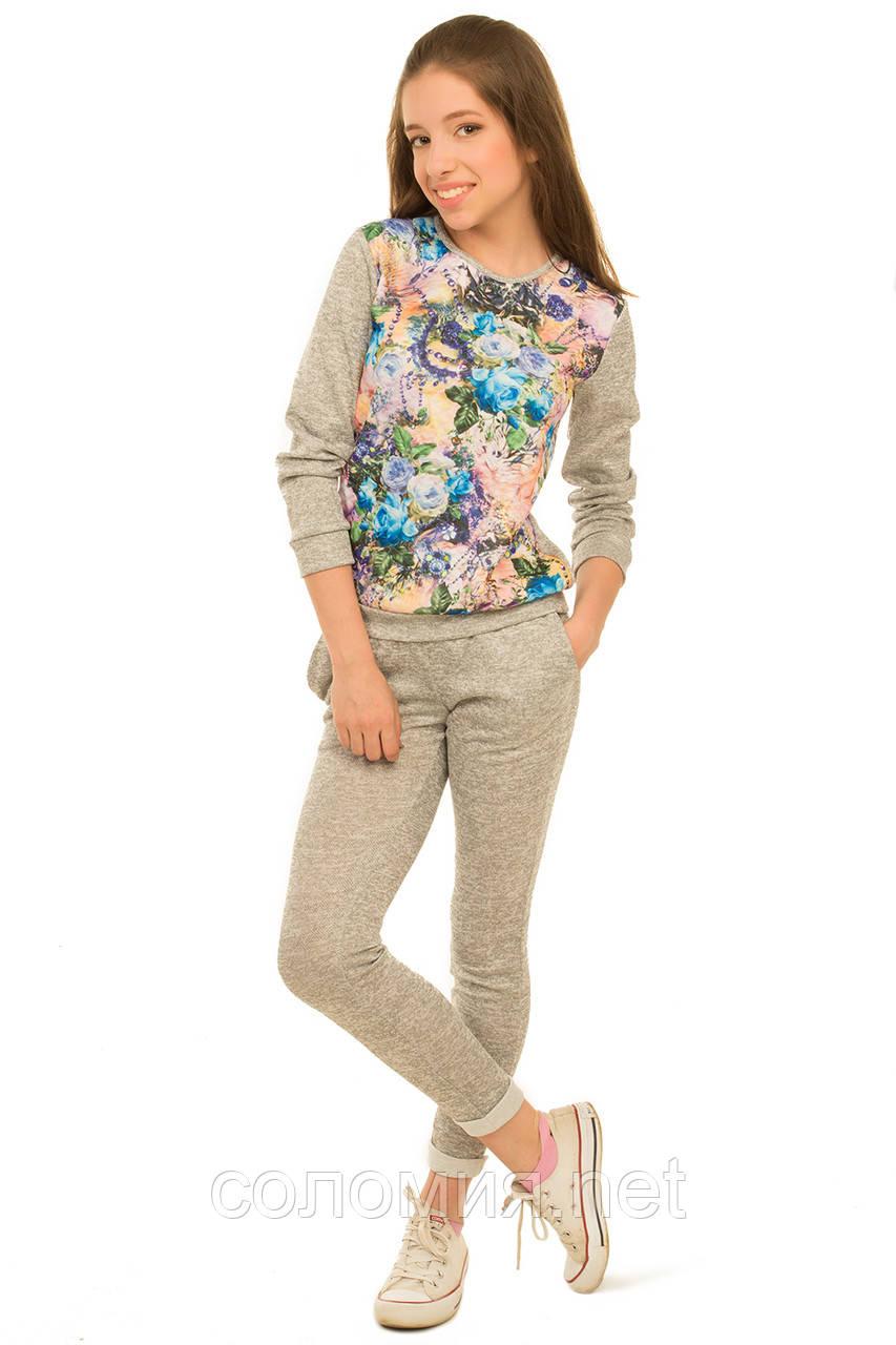 Потрясающий весенне-осенний костюм для девочки 128-146р