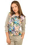 Потрясающий весенне-осенний костюм для девочки 128-146р, фото 2