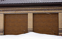 Автоматические секционные гаражные ворота DoorHan 2000*2100