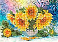 Схема для вишивки та вишивання бісером Бисерок «Соняшники» 5074 (A3) 30x40 ( 07ce55ee29a7b