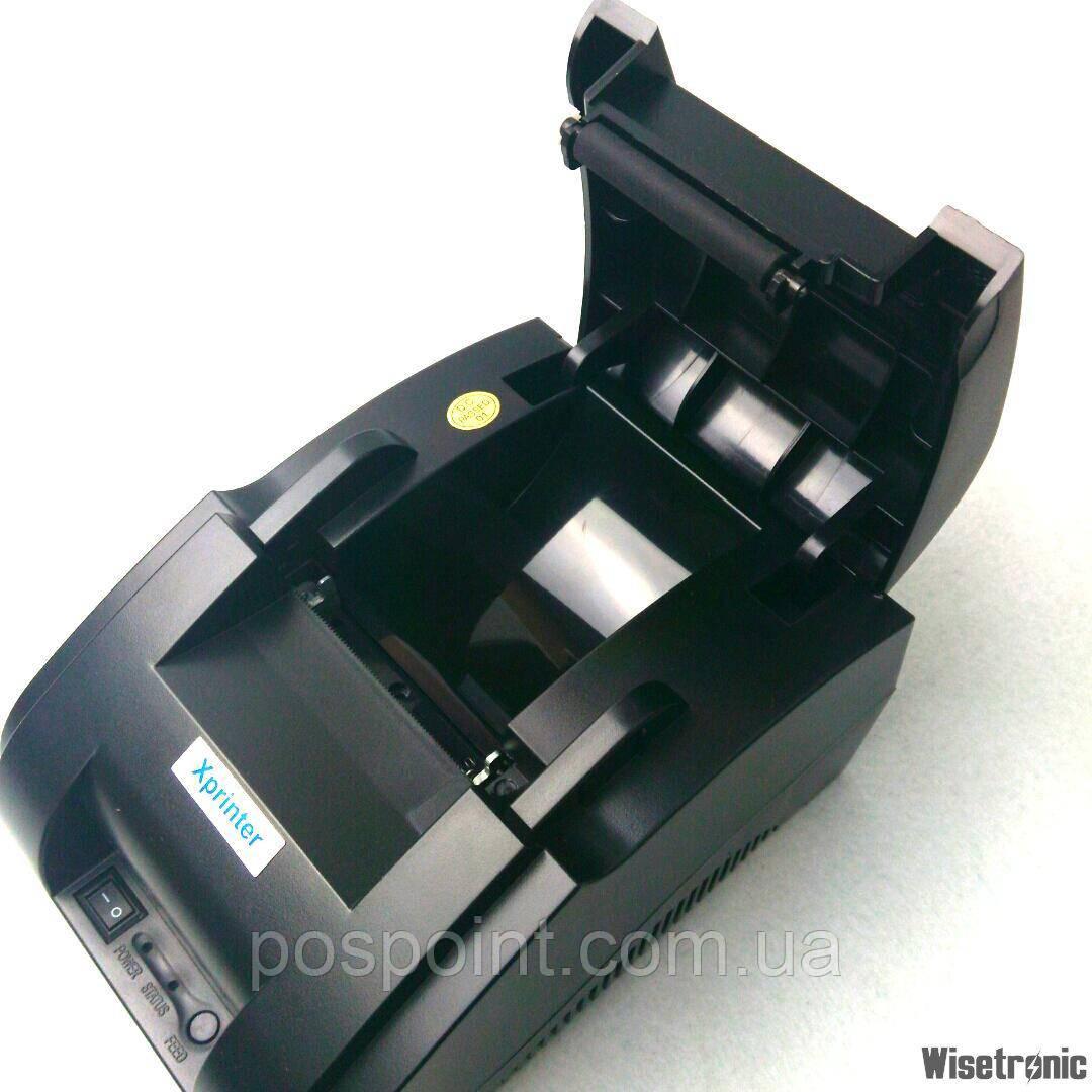 Принтер чеков блютуз pos Термопринтер XP58IIH Bluetooth