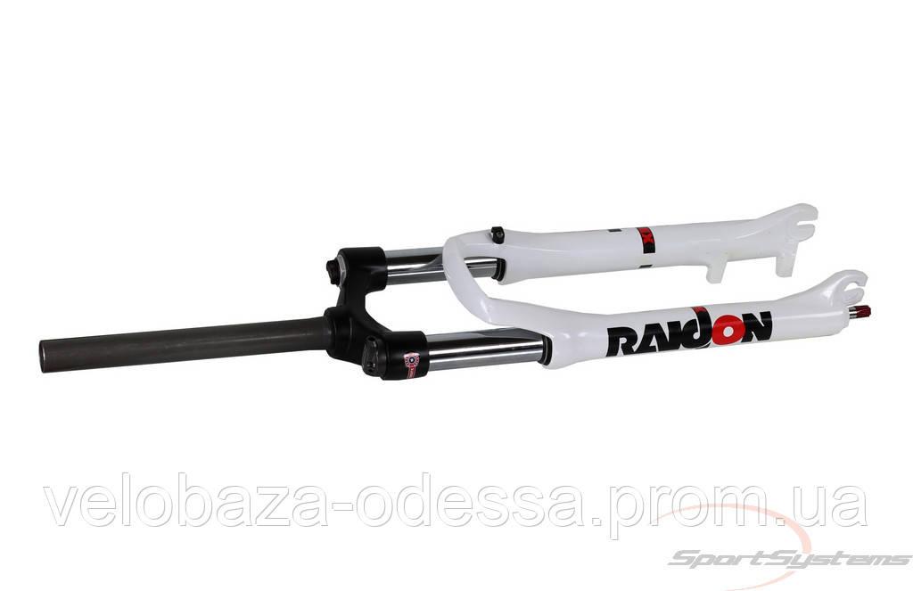 Вилка SR SUNTOUR SF12-RAINDON-X3-COIL-26-100-WHT