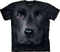 3D футболка мужская The Mountain р.L 52-54 RU футболки мужские с 3д рисунком (Черный Лабрадор)