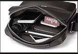 Мужская сумка. Сумка через плечо. Сумка планшет. Стильная сумка. Качественная сумка. , фото 3