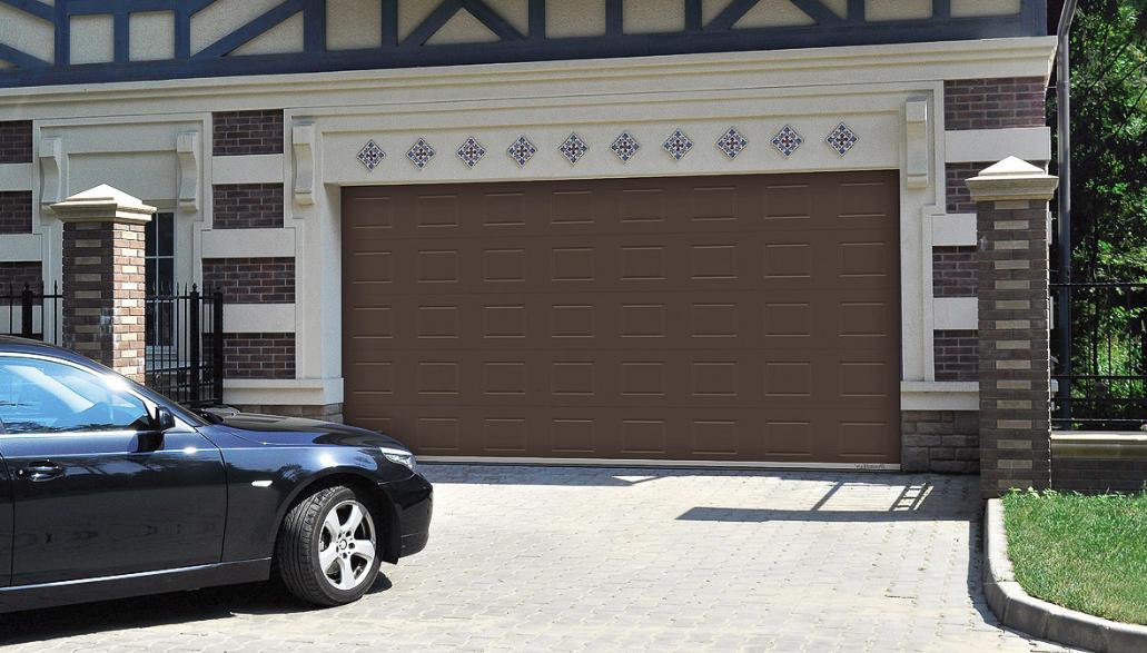 Автоматические гаражные ворота DoorHan 5900*2200