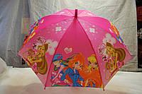 Зонт детский Winx, трость