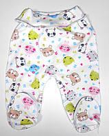 Ползуны для маловесных и недоношенных детей еврорезинка интерлок р. 42,46,50 одежда для недоношенных