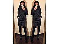 """Платье """"Летучая мышь"""", ткань ангора, оригинальная модель женского платья. Разные цвета и размеры., фото 1"""