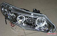 Передние Honda Civic USA альтернативная тюнинг оптика фары тюнинг-оптика передние на для HONDA Хонда Civic USA