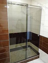 Раздвижная душевая кабина 1,2м*2м в тонированном стекле