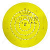 Круг муслиновый желтый Crown Ø 150 мм (50 слоев)