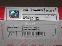 Кольца поршневые VAG 80,01 1,9D/TD-2,4D (пр-во Mahle) 030 20 N2