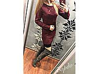Платье с кружевом, ткань ангора, оригинальная модель женского платья. Разные цвета и размеры., фото 1