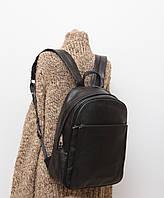 Кожаный мужской рюкзак (кожа искусственная) женский рюкзак David Jones / Дэвид Джонс