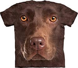 3D футболка мужская The Mountain р.XL 56-58 RU футболки мужские с 3д принтом рисунком (ШоколадныйЛабрадор)