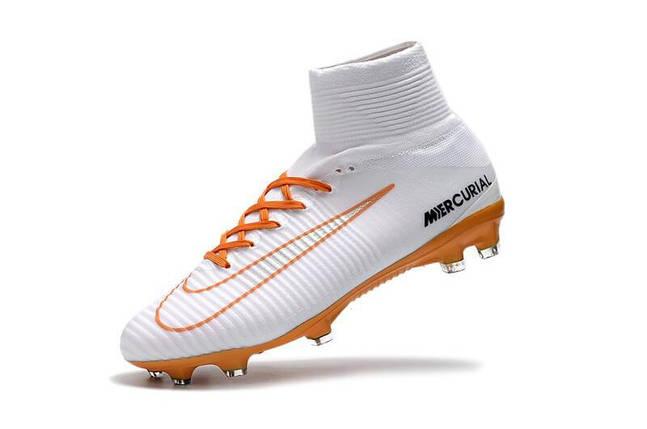 Купить Футбольные бутсы Nike Mercurial Superfly V FG White Chocolat ... f47a6d105b1