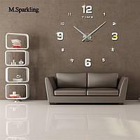 Настенные объемные декоративные часы DIY CLOCK