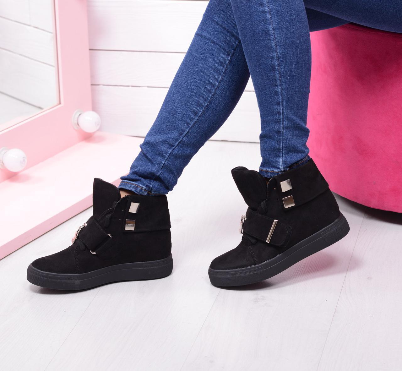 Женские ботинки - сникерсы осенние