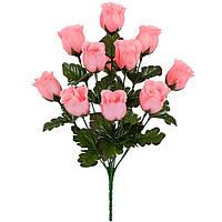 Букет искусственных цветов Роза бутон , 42 см