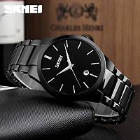 Часы Skmei Классика 9140 Чёрные