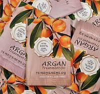Пробник маски для волос с аргановым маслом Welcos Confume Argan Treatment Hair Pack