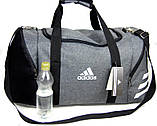 Спортивная сумка Adidas. Сумка в дорогу. Дорожная сумка. Сумка для занятий спортом., фото 2